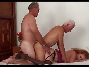 Female domination two slaves suck cock
